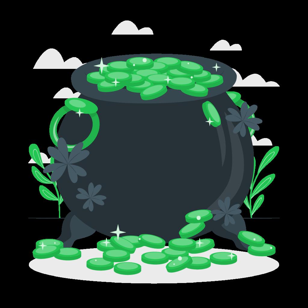 Pot of gold-cuate